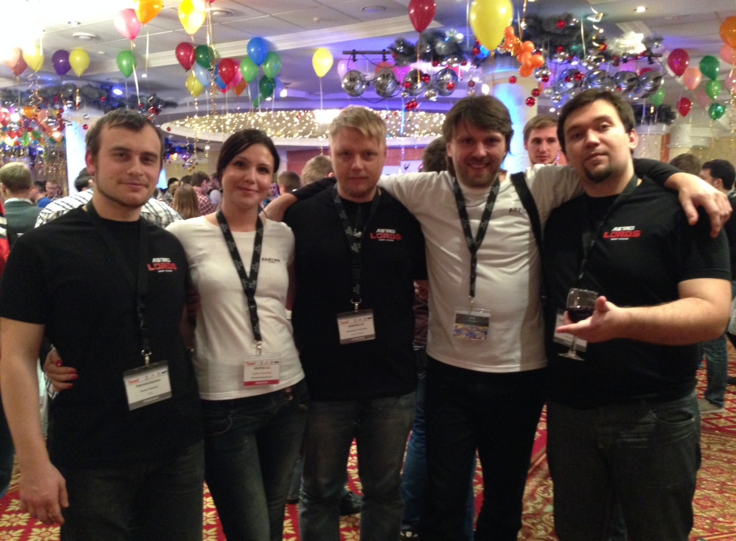 AstroLords team at DevGAMM